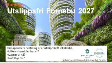 Utslippsfri Fornebu 2027