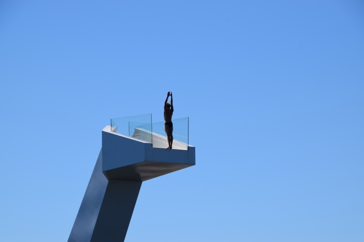 Stupetårnet en stuper foto Siri Bjørnbakken